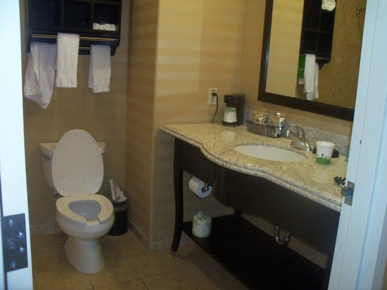 Hampton Inn & Suites Fort Worth Fossil Creek: Bathroom