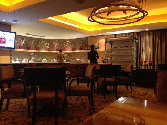 Sheraton Ningbo Hotel:                                     Club floor