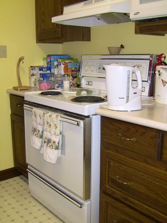 A Valley View B&B: Electric stove