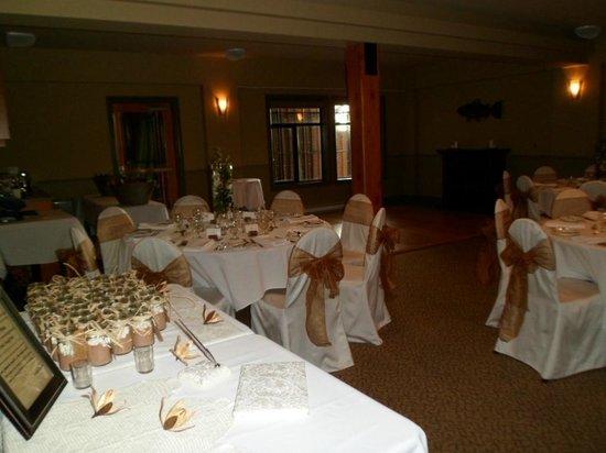 Long Beach Lodge Resort: wedding hall