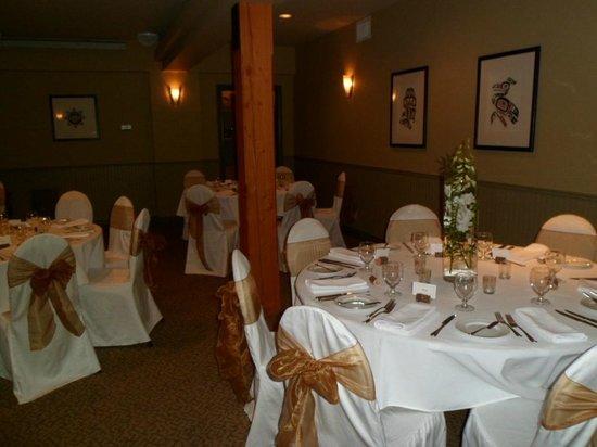 Long Beach Lodge Resort: wedding reception room