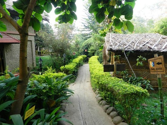 Club Mahindra Thekkady:                   Way to reception