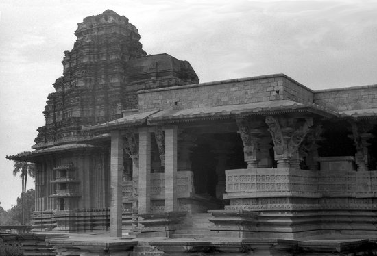 Warangal, Indien:                                     Ramappa Temple 30 years before