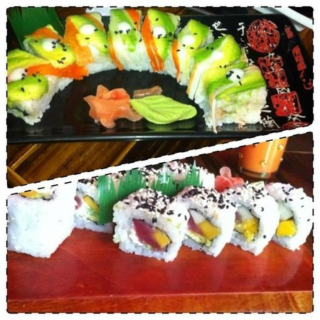 Dominical Sushi: Paraiso y Dominical rolls