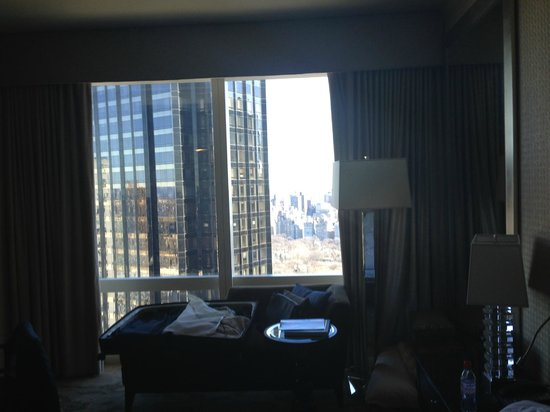 Mandarin Oriental, New York :                   Premier Park View Room....that's the view? Correct.