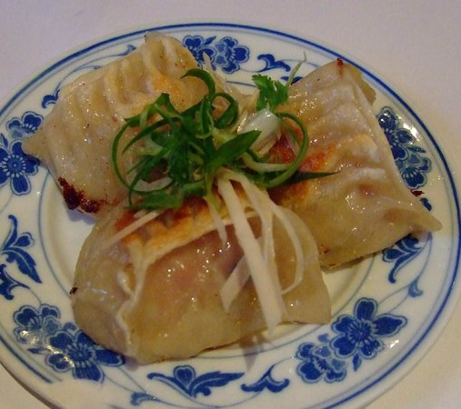 Tsing Tao: pan fried dumpling