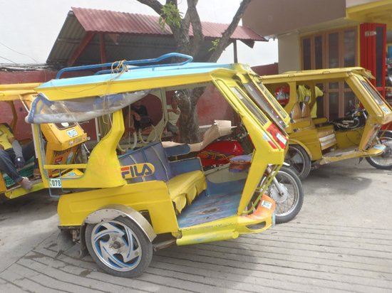 Yapak Beach (Puka Shell Beach):                   $150.00 peso for our ride to puka in this tricycle