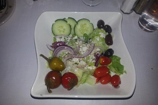 Delio's Italian Restaurant:                   MEDITERRANEAN SALAD