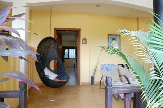 Siddharta Boutique Hotel:                   Terrasse chambre