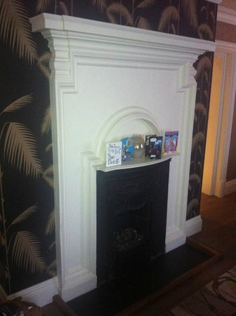 The Forbury Roseate:                   fireplace
