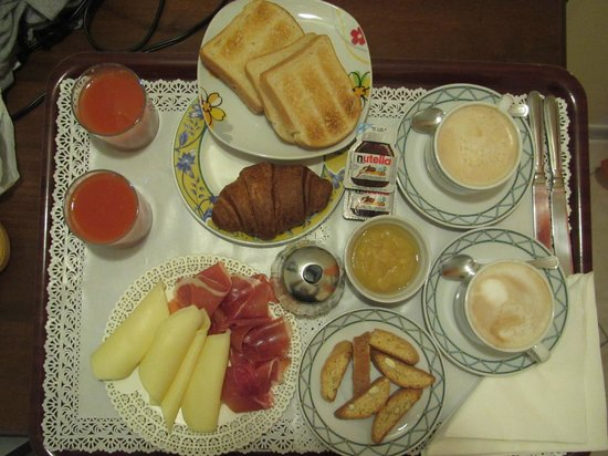 Hotel De Monti:                   Breakfast was delicious and satisfying!