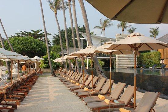 Sareeraya Villas & Suites:                   By the beach