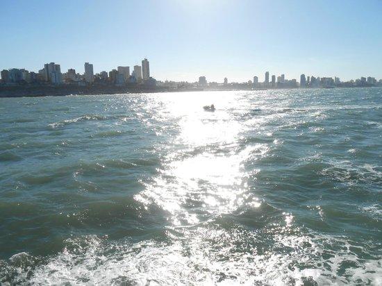 Crucero Anamora:                   la ciudad desde el mar