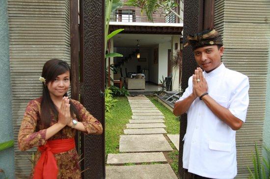 Warm Welcome To Grania Bali Villas Picture Of Grania Bali Villas Seminyak Tripadvisor