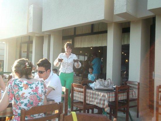 Club Okaliptus Tatil Koyu: ресторан