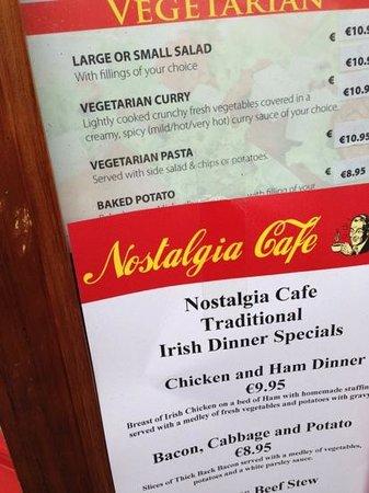 Cafe Nostalgia Kilkenny