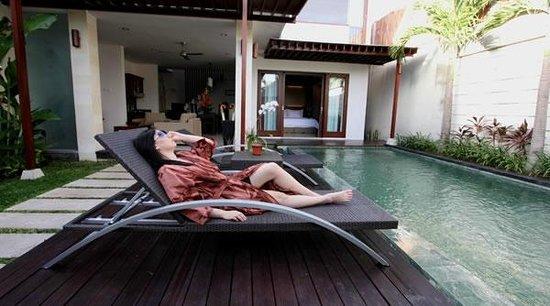 Grania Bali Villas: Guest relaxation