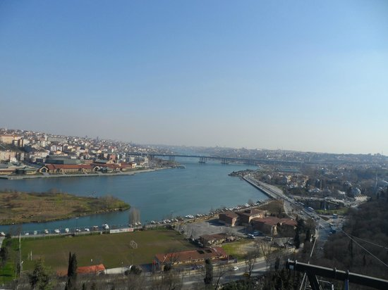 lovely view of the Golden Horn