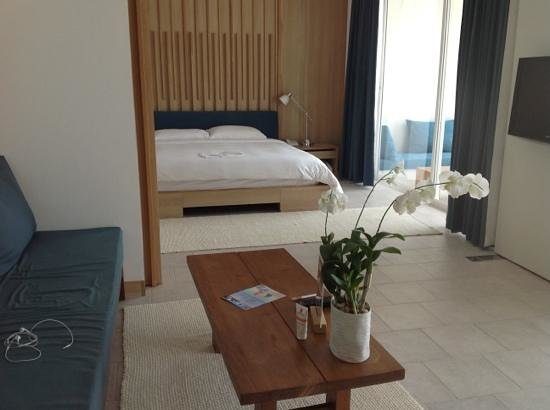 Nap Patong:                   Blue moon suite : jolie, spacieuse et bien pensée