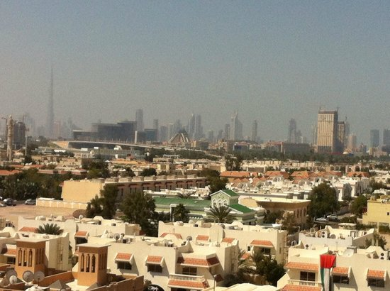 Premier Inn Dubai International Airport Hotel:                   View from roof top swimming pool