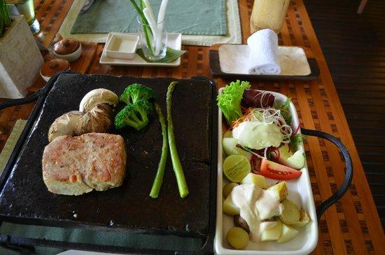 Spa at Maya:                   Lunch
