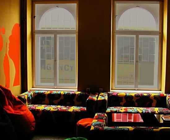 Hostel Florenc:                                     Lounge