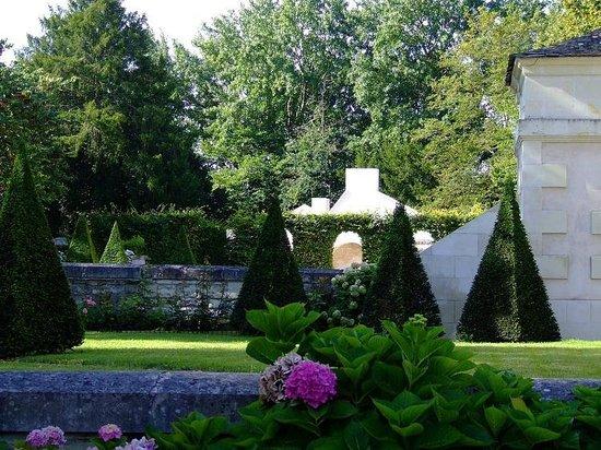 Château des Réaux: Jardin
