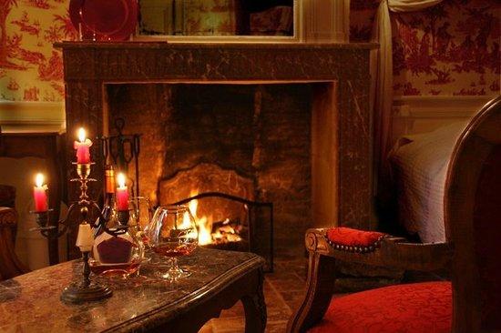 Château des Réaux: Chambre rouge