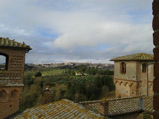 Castello delle Quattro Torra:                   Panorama