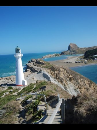 Castlepoint Lighthouse and Beach