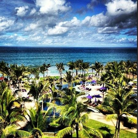W Bali - Seminyak:                   View from room 553