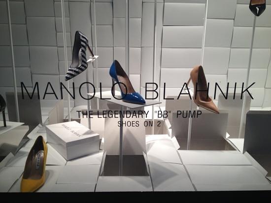 Bergdorf Goodman :                   Manolos!