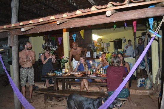Cabanas Balamjuyuc:                   We are having our party, feel like home