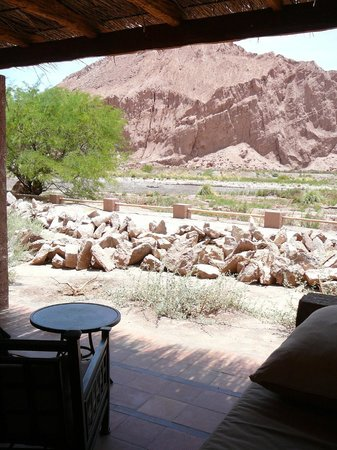 Alto Atacama Desert Lodge & Spa:                   view from our patio