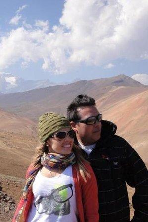 Manquehue Santiago Las Condes: vale da nevada