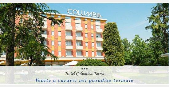 Columbia Terme Hotel: facciata hotel