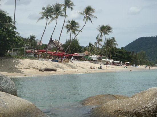Beluga Boutique Hotel:                   beach along lamai