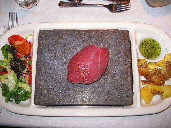 Paihia Pacific Resort Hotel:                                     Volcanic Stone cooking
