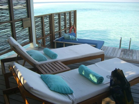 Sunset Water Villa Picture Of Four Seasons Resort Maldives