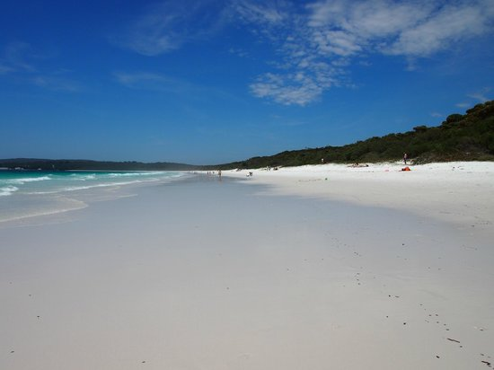Jervis Bay, Australia:                   Hyams Beach