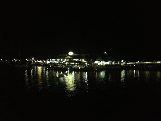 Jasmine Thai Restaurant:                   night view from Jasmine Thai