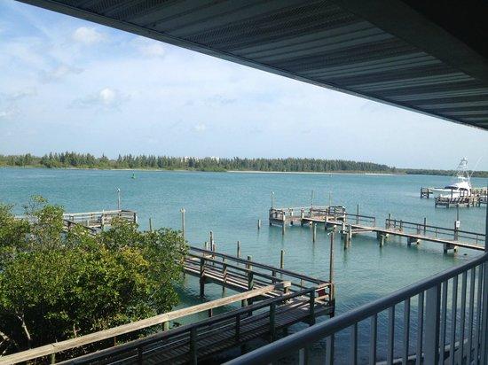 Dockside Inn & Resort: Utsikt från rummet