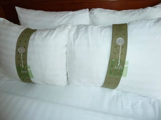 Holiday Inn Midtown / 57th St:                   Choice of Firm or Soft pillows