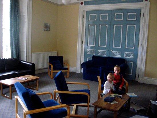 YHA Hawkshead:                   Living room