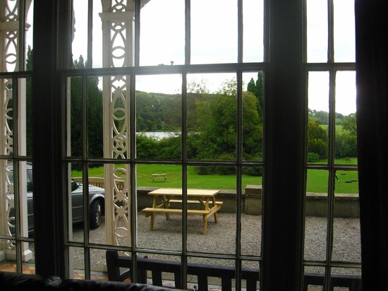 YHA Hawkshead:                   View from living room