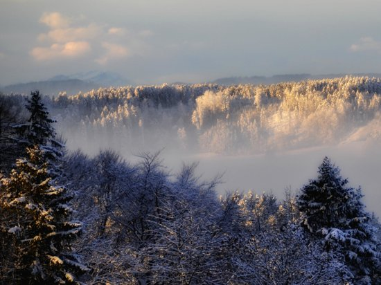 Gasthof Gyrenbad: Aussicht
