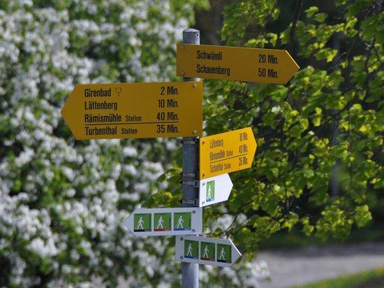 Gasthof Gyrenbad: Wandervorschlläge