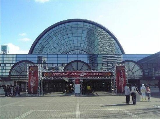 インテックス大阪の入り口です