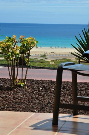 Barcelo Jandia Playa:                   view from 9026 (ground floor room)