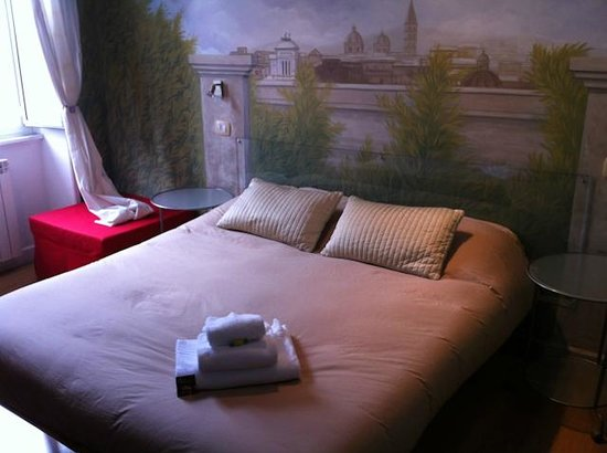 Suites Trastevere:                   The room
